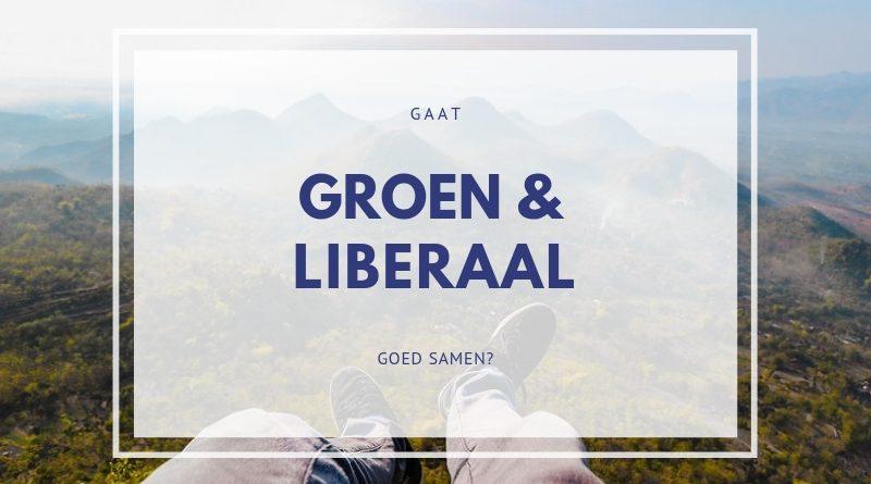 Groen liberaal gaat goed samen